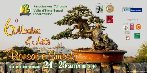 mostra bonsai 2016 locandina