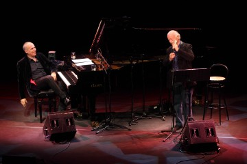 Roma, Auditorium Parco della Musica 26 12 2011 Gino Paoli e Danilo Rea  'Due come noi che…' © Musacchio & Ianniello ******************************************************* NB la presente foto puo' essere utilizzata esclusivamente per l'avvenimento in oggetto o  per pubblicazioni riguardanti la Fondazione Musica per Roma *******************************************************